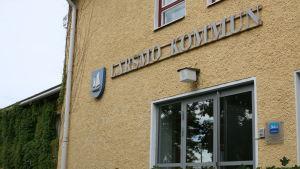 Kommunhuset i Larsmo.