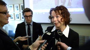 Pia Viitanen är ny kultur- och bostadsminister.