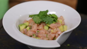 En portion ceviche