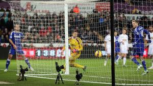 Chelseas Andre Schürrle gör 5–0 till Chelsea.