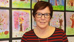 Södersundan koulun opettaja Carina Jansson