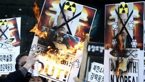 Nordkoreas fjärde kärnvapenprov i början av januari 2016 utlöste oro och skarpa protester i Sydkorea