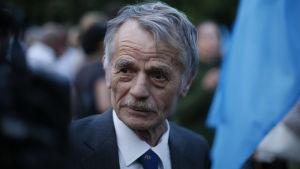 Mustafa Dzjemilev har varit politiskt aktiv i kampen för att ge krimtatarerarna en röst och rättigheter.