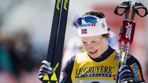 Marit Björgen satsar allt på att lyckas i OS i Sydkorea. Hon stryker Tour de Ski och lämnar familjen hemma från Pyeongchang.