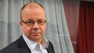 Tero Anttila, direktör för kollektivtrafikplaneringsavdelning i HRT