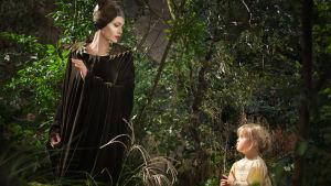 Angelina Jolie och hennes egen dotter som en ung Aurora.