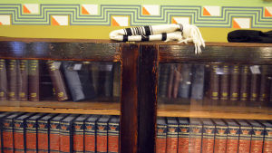 Böcker i Helsingfors synagoga