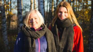 Madeleine Ingves och Natalie Norrholm