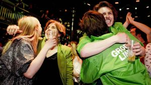 Det gröna partiet i Nederländerna segrade stort.
