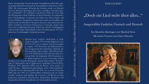 Saksankielisen Eino Leinon runokokoelman kansi