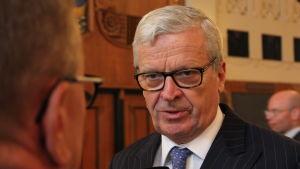 Bendt Brunow är styrelseordförande i Lemminkäinen.