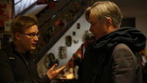 Regissören Whit Stillman möter en engagerad åskådare.