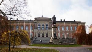 Huvudbyggnaden vid Uppsala universitet