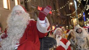 Julöppning i Helsingfors
