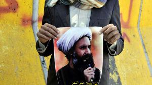 Avrättningen av Sheik Nimr al-Nimr har utlöst kraftiga protester i Mellanöstern
