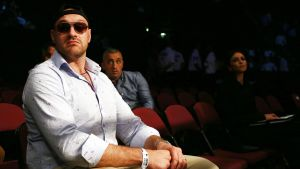 Tyson Fury i Manchester den 24 september.