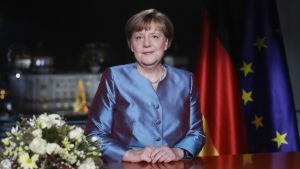Angela Merkel håller nyårstal 2016
