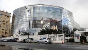 Renaults huvudbas i Frankrike.