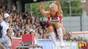 Jessica Rautelin hoppar längd, 2017.