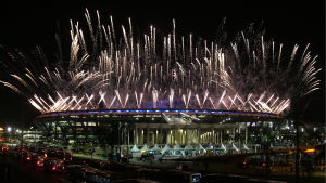 OS-invigningen i Rio.