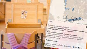 Pulpeter, kartläggning av sifferbetyg i Svenskfinland.