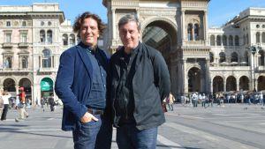 Giorgio Locatelli ja Andrew Graham-Dixon