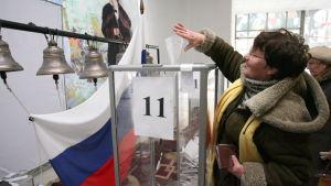 Röstning i ryska dumavalet 2011.
