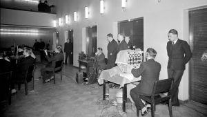 Radion sinfoniaorkesterin konsertin radiointi