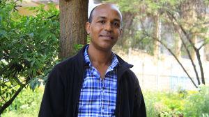 Kassahun Tesfaye är chef för institutet för bioteknologi vid universitetet i Addis Abbeba.
