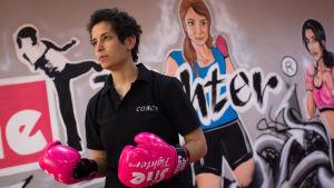 Lina Khalifeh har ägnat hela sitt lit åt kampsporter