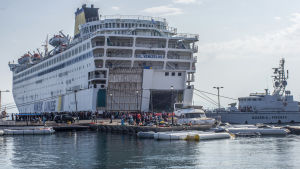 Grekisk passagerarfärja