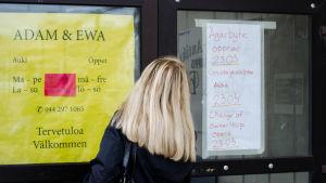 Lopptorget Adam & Ewa är stängt.