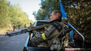 ukrainsk regeringssoldat