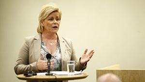 Norges finansminister Siv Jensen