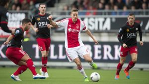 Niklas Moisander, Ajax-Excelsior, december 2014.