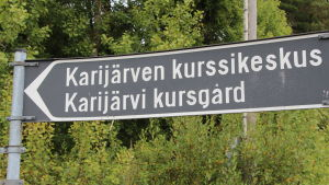 Karijärvi kursgård.