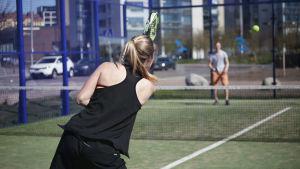 Tennisspelare.