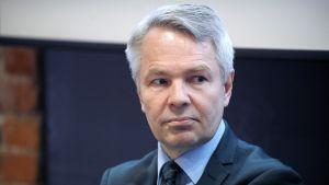 Utvecklingsminister Pekka Haavisto.