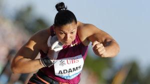Valerie Adams har inte förlorat en tävling sen 2010.