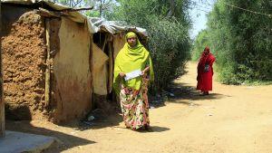 Somalisk flykting