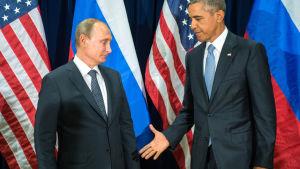 Obama och Putin möttes i FN