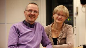 Dan Idman och Ulrica Isaksson.