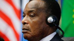 Kongo-Brazzavilles president Denis Sassou Nguesso.