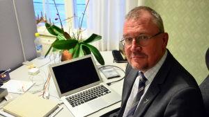 Rektor emeritus Matti Jakobsson.