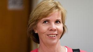SFP:s ordförande Anna-Maja Henriksson på Gullranda den 12 juni 2017.