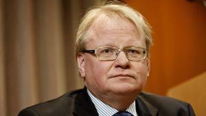 Sveriges försvarsminister Peter Hultqvist.