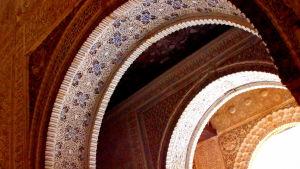 Alhambran palatsin keramiikkaa