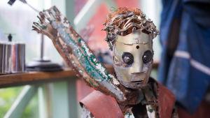 En skulptur föreställande Lille prinsen
