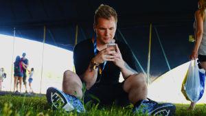 Tommy Nordlund på Ruisrock.