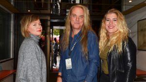 Tomas G:son med Johanna Dikert och Pernilla Karlsson på Musik & Talang.